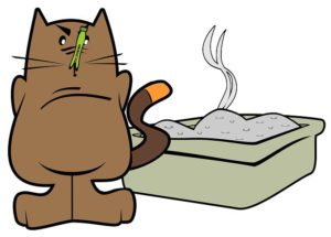 how to clean litter box with baking soda