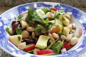 "You can make bean salad on those ""no cook"" evenings."