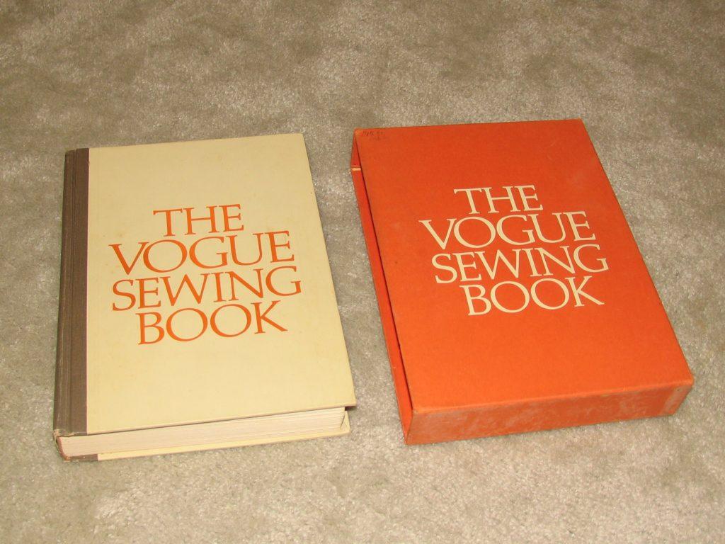 Vintage Vogue Sewing Book