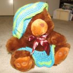 Brown Bear with Custom Outfit