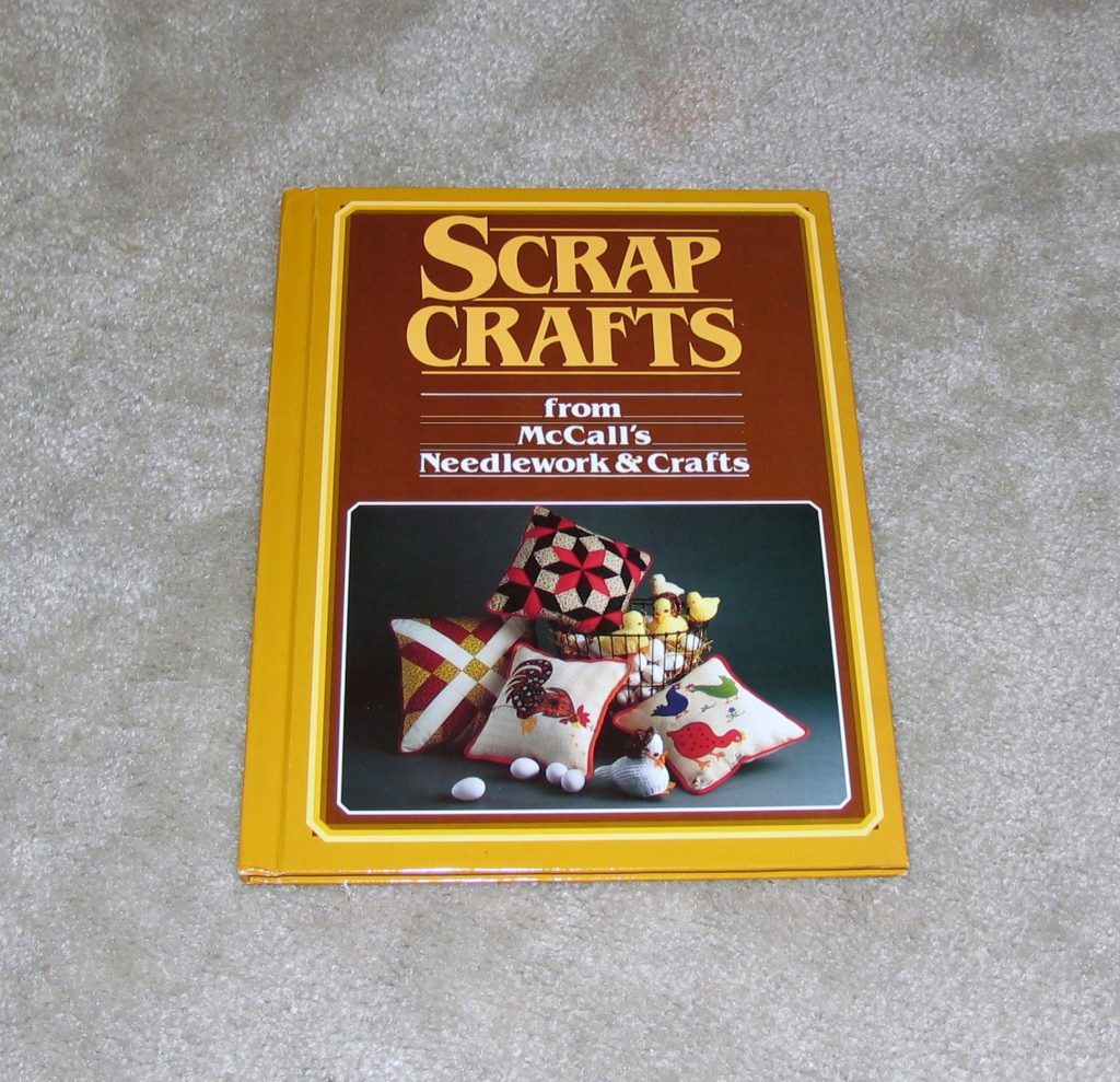 Vintage 1980's Scrap Crafts Book