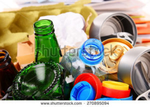 recycling bottles & containers