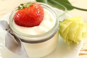 did you know that yogurt contains bacteria that is beneficial to you?