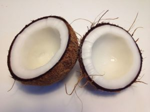 coconut oil is one of the good fats for you to use when you're cooking.