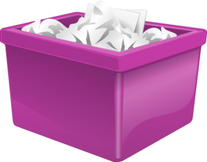 Do you reuse or recycle items? did you know that shredded paper can be composted?