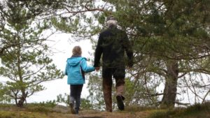Walking in nature with your child or grandchild is more relaxing than a food fix... And it's great for your brain as well.